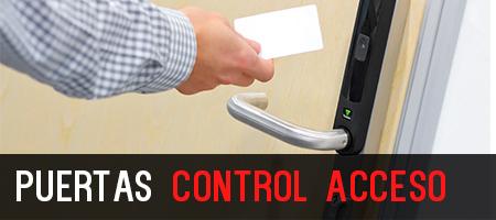 Puertas control acceso