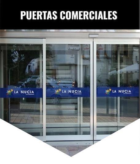 Puertas de Cristal Automáticas Alicante